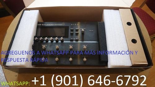 boss gt-1000 2018 multiefectos guitarra pedal