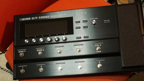 boss gt1000 multi-efector
