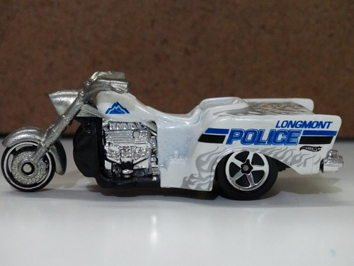 boss hoss cycles policia  - hot wheels - 1:64 - loose