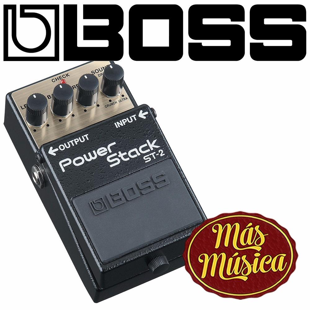 Boss St 2 Pedal Power Stack 506936 En Mercado Libre