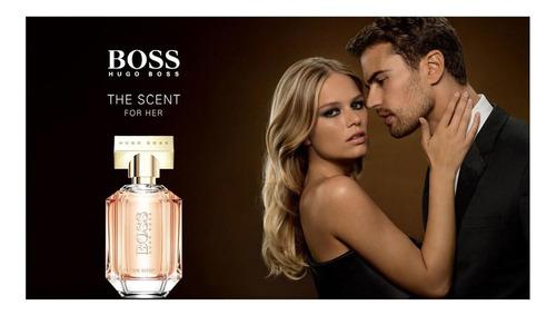 boss the scent for her hugo boss edp perf. feminino 50ml blz