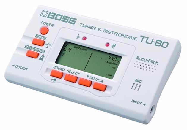 Boss Tu-80 Guitar Tuner & Metronome - Bs  129 888,00