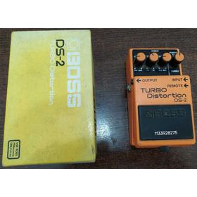 Boss Turbo Distortion Ds-2 Como Nuevo