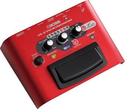 boss ve-2 armonizador vocal