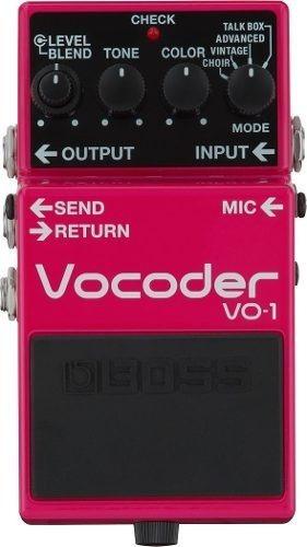 boss vo1 vocoder