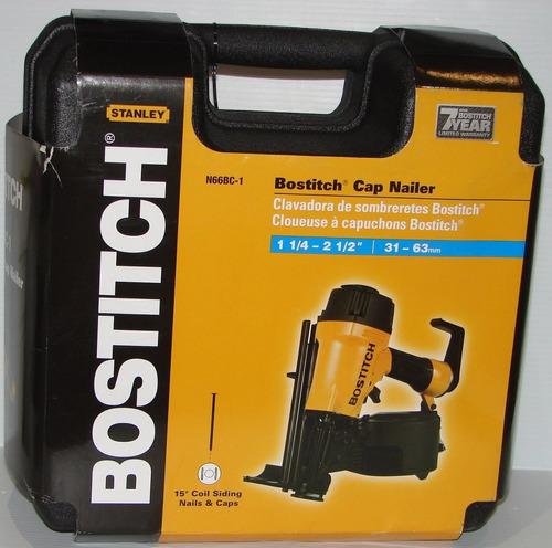 bostitch n66bc-1 2-1/2 en. botón tapa clavadora, botón clava