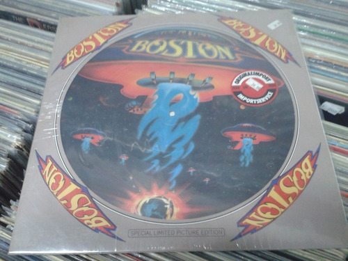 boston - boston picture disc original impecable