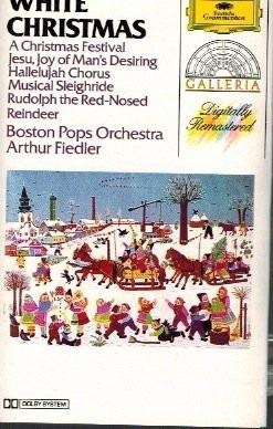 boston pops orchestra: white christmas cass usado 1976 usa