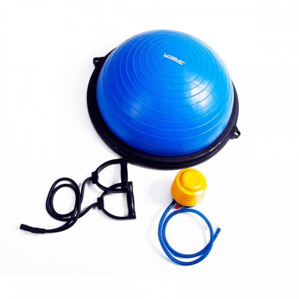4aaf14e29f bosu meia bola balance com bomba pilates fitness liveup. Carregando zoom.
