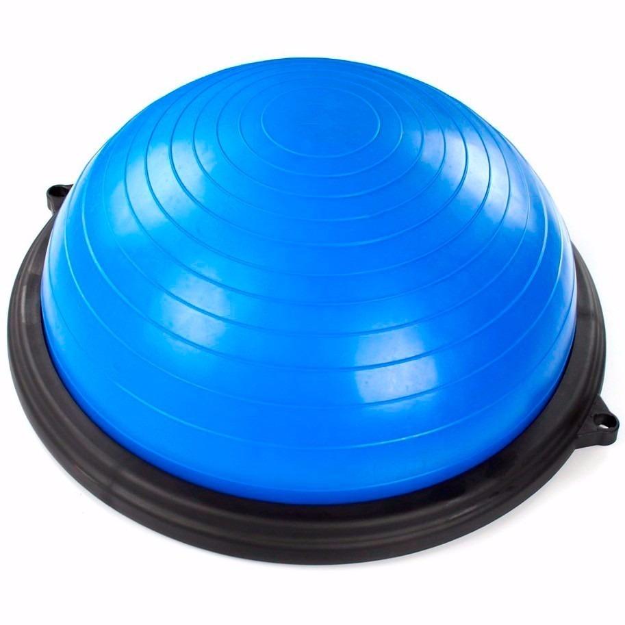 94dcb59a1d Bosu Meia Bola C  Bomba E Extensores Pilates Fitness 17 - R  349