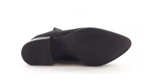 bota a pie sandy puño elastico microfibra mujer