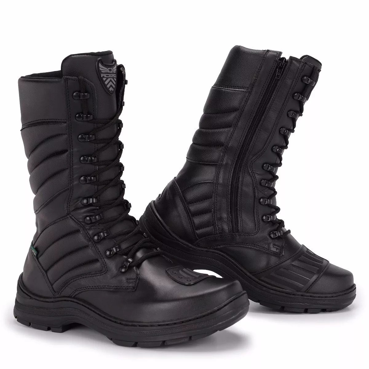 3785a73c94 bota acero coturno couro legitimo militar tático palm gel. Carregando zoom.