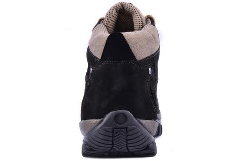 32375d4b7eed9 Bota Adventure Couro Nobuck Preto Coturno Boot Caminhada - R$ 75,00 ...