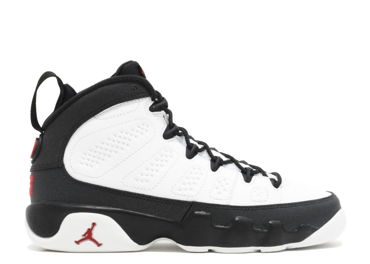 sports shoes 33065 31527 ... 9 ix retro playoff blanco negro junior. Cargando zoom.