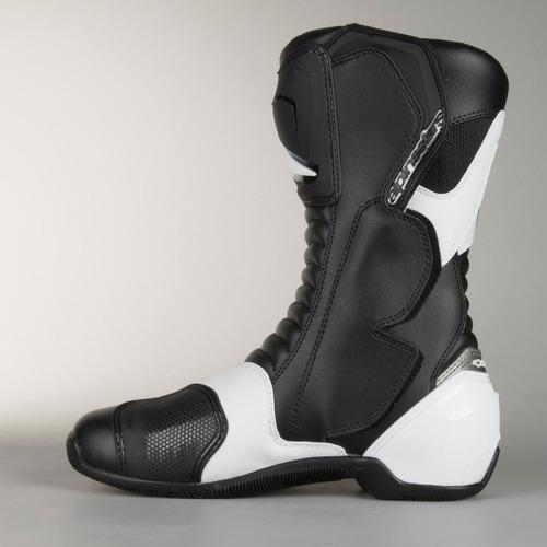 bota alpinestars smx-s preta e branca pronta entrega oferta