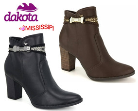 9a672bc592 Sandalias Ankle Boots Feminino Dakota - Sapatos no Mercado Livre Brasil