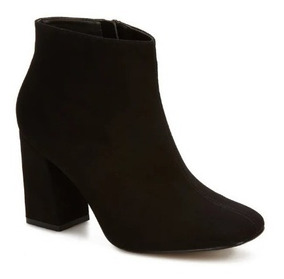 Bota Ankle Boot Mujer Negro 2465029 Andrea