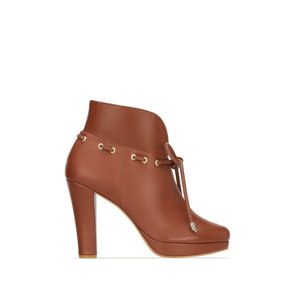 1359ca6a bota ankle boot mujer vestir cierre interno café 2620046. Cargando zoom.