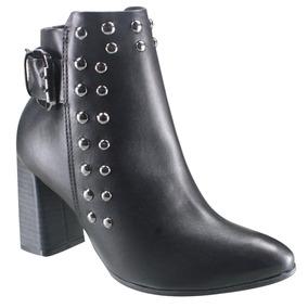 5b802a7e0 Botas Femininas Baixinha Feminino - Botas Ankle Boots Ramarim no Mercado  Livre Brasil