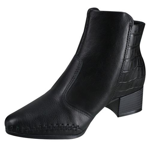 044455f19 Bota Ankle Boot Ramarim Total Comfort 17-57101 | Katy - R$ 219,90 em ...