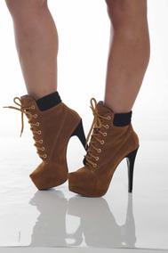 97e4a30ba Bota Frentista - Botas Ankle boots para Feminino com o Melhores ...