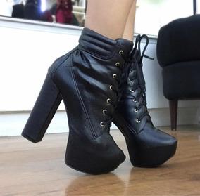 751bb0cd304b9 Bota Ankle Boots - Botas com o Melhores Preços no Mercado Livre Brasil