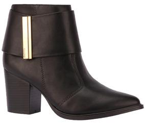 a55986805 Summer Boot Via Uno Preta Ankle Boots - Calçados, Roupas e Bolsas no ...