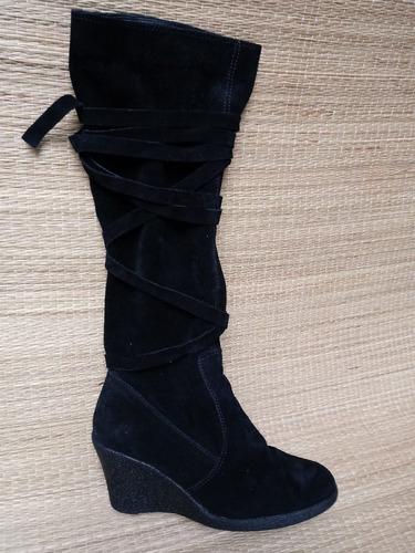 bota arezo feminina cano alto