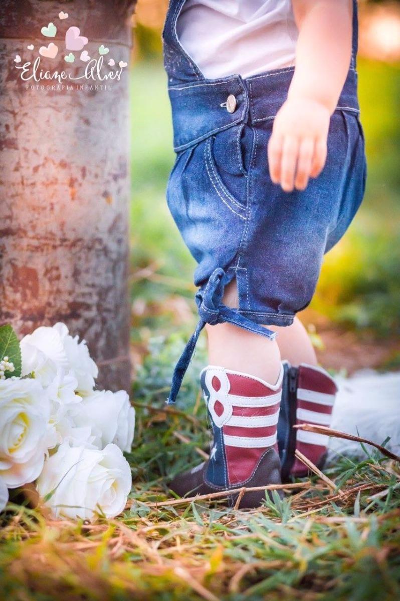 bota bebê country texana menino menina em couro rodeio 1820. Carregando  zoom. 3a8ad84e9d4