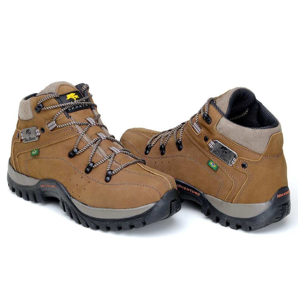 34e9e93f0e0 bota bell boots masculina coturno adventure em couro nobuck. Carregando  zoom.