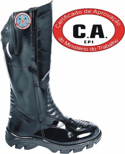 bota bombeiro minas gerais, motociclista, resistente a água.