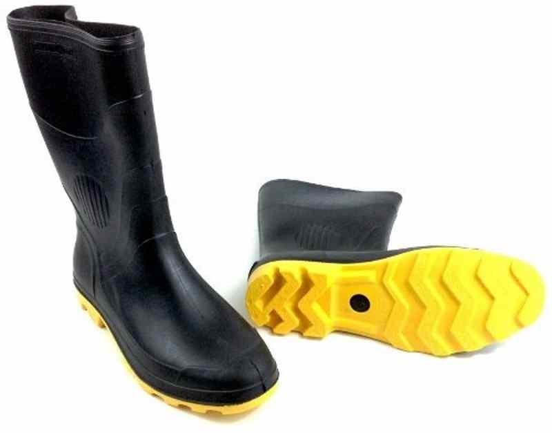 f87bd4502ec bota borracha pvc galocha de chuva solado amarelo motoqueiro. Carregando  zoom.