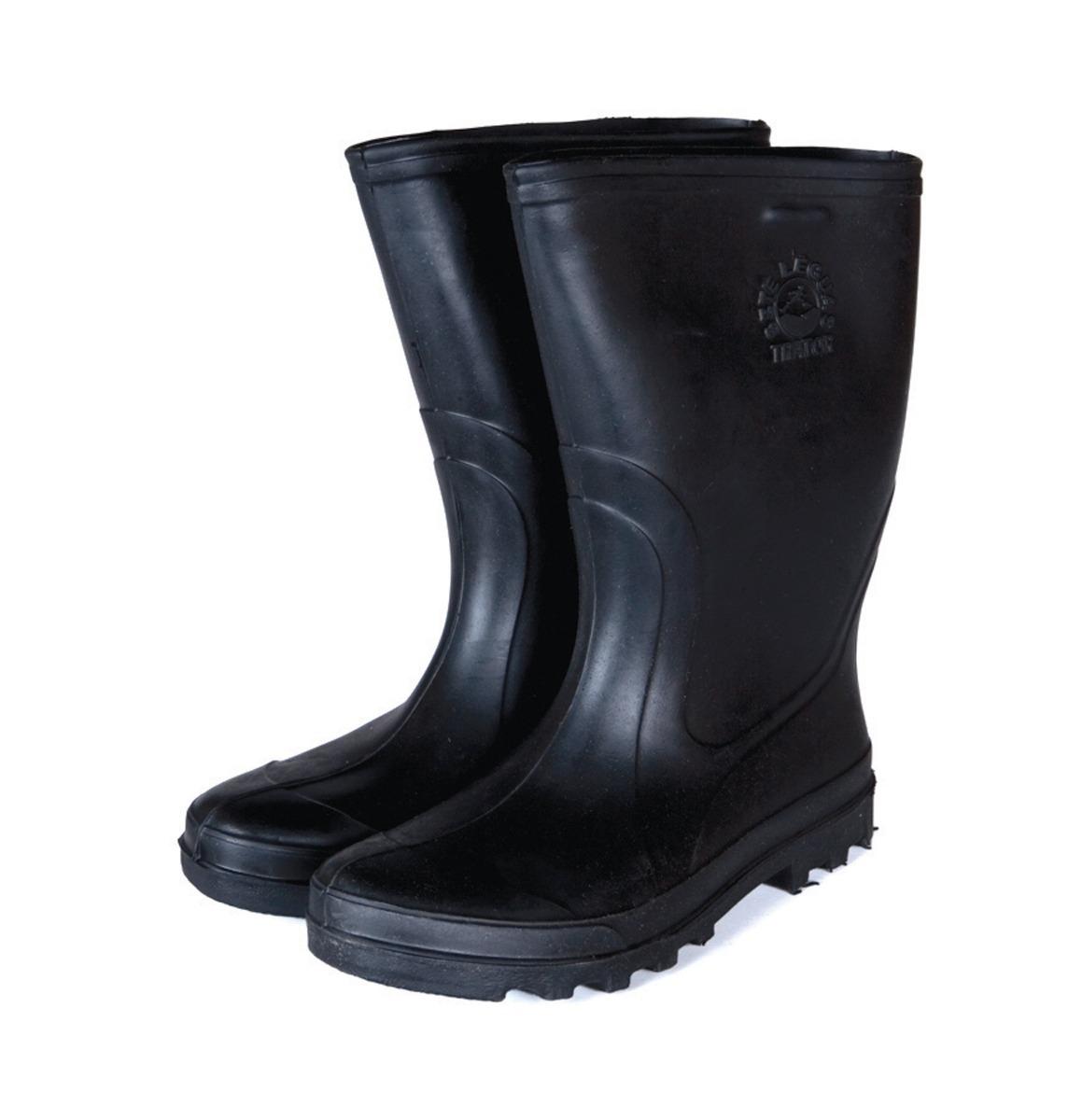 eb9fb9c0b1a bota borracha sete léguas impermeável preta c curto 3 pares. Carregando zoom .