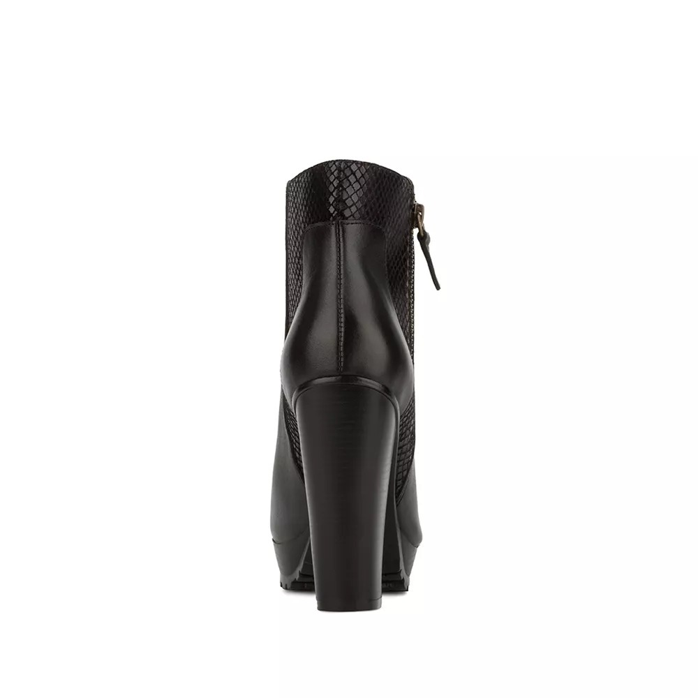 2881b767ba8 bota botín negro piel andrea tacón ancho 11.5 cierre 2365367. Cargando zoom.
