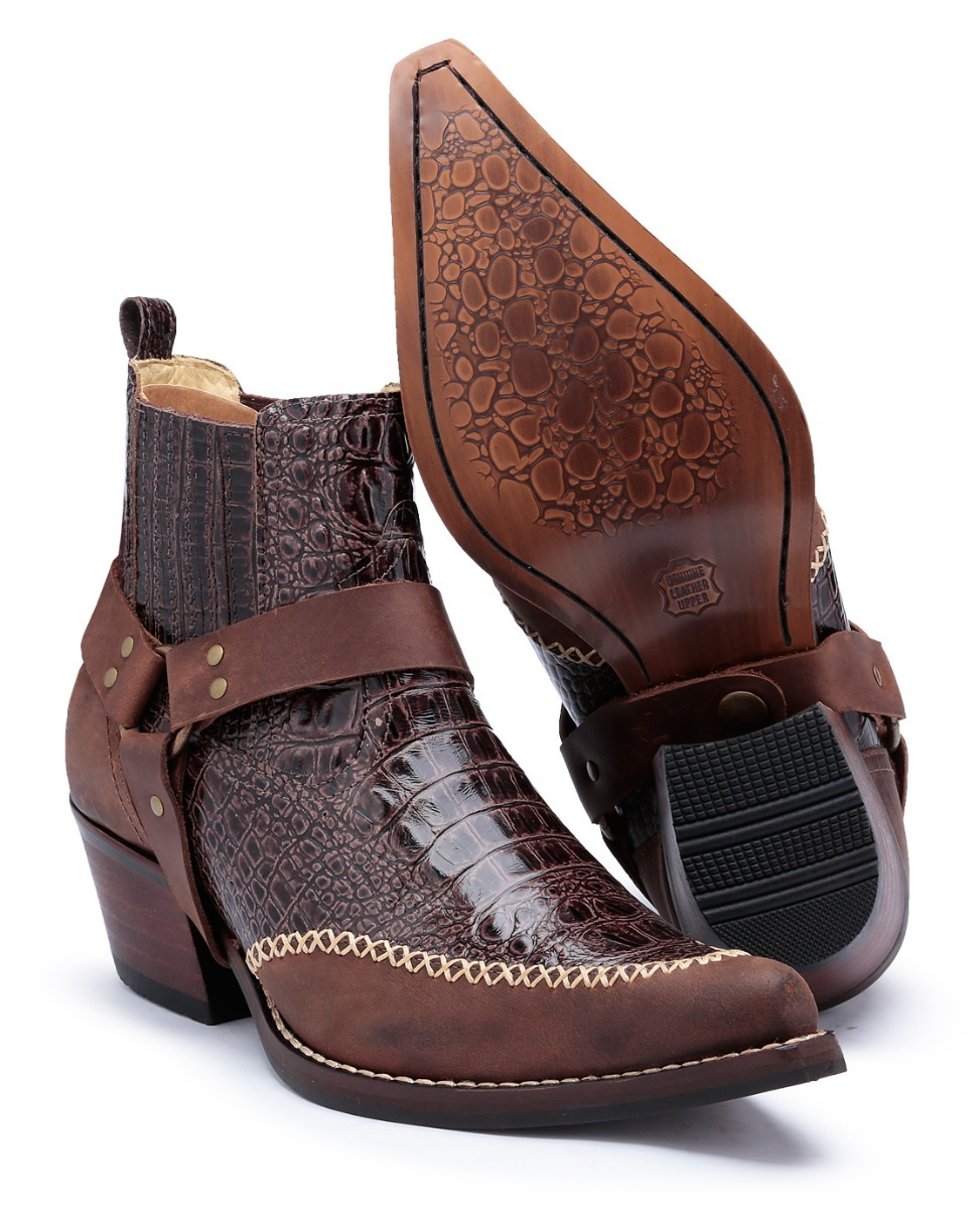 3dbf99a5eaa60a  bota botina country masculina texana couro joão carreiro  top. Carregando zoom. 94311700f8c