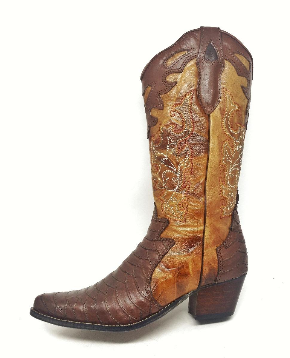 9702e04ffb7 bota botina country montaria couro rodeio feminina escamada. Carregando  zoom.