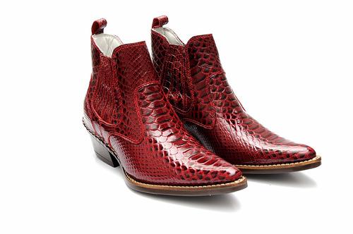 bota botina country texana masculina anaconda couro legitimo