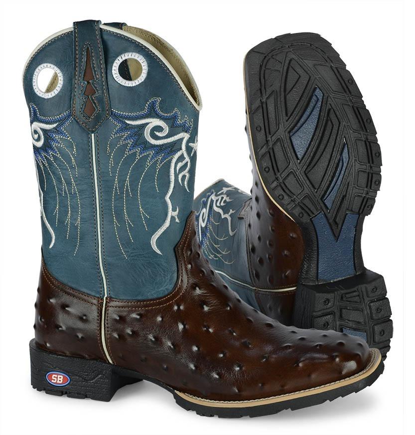 5e63e793f3 bota botina country texana masculina top carteira + pulseira. Carregando  zoom.