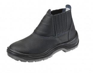 bota botina elástico biqueira de aço, solado bi marluvas epi