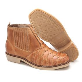 2372cc231f Bota Country Solado Branco Cano Curto Fazenda Boot Masculino ...