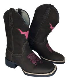 6df36f7de Bota Constance Feminina - Sapatos para Feminino Rosa-escuro com o ...