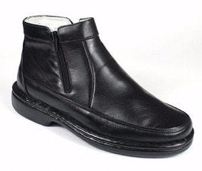f2754f8b2 Sapato Masculino Antistress Preto Mafisa Botas - Sapatos no Mercado ...