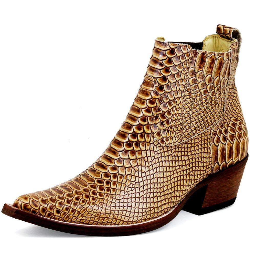 Carregando zoom. d551466861dfa4  bota botina masculina country texana bico  fino joão carreiro. Carregando zoom. d551466861dfa4 ... 6efe30b9827