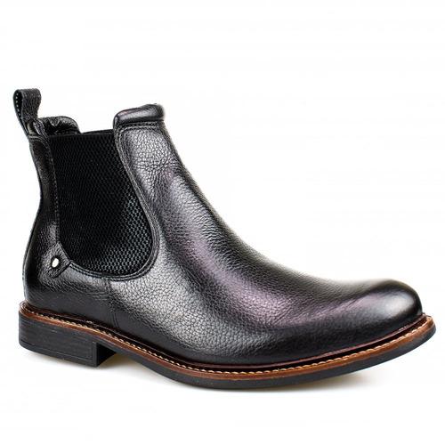 bota botina masculina couro legítimo country texana peao