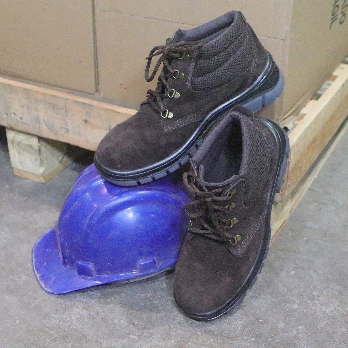 f44e131a61ca7 bota botina nobuck epi segurança com biqueira antiderrapante. Carregando  zoom.