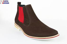 d3ecc5296 Sapato Marine Social Marrom 40 Masculino Botas - Sapatos no Mercado ...