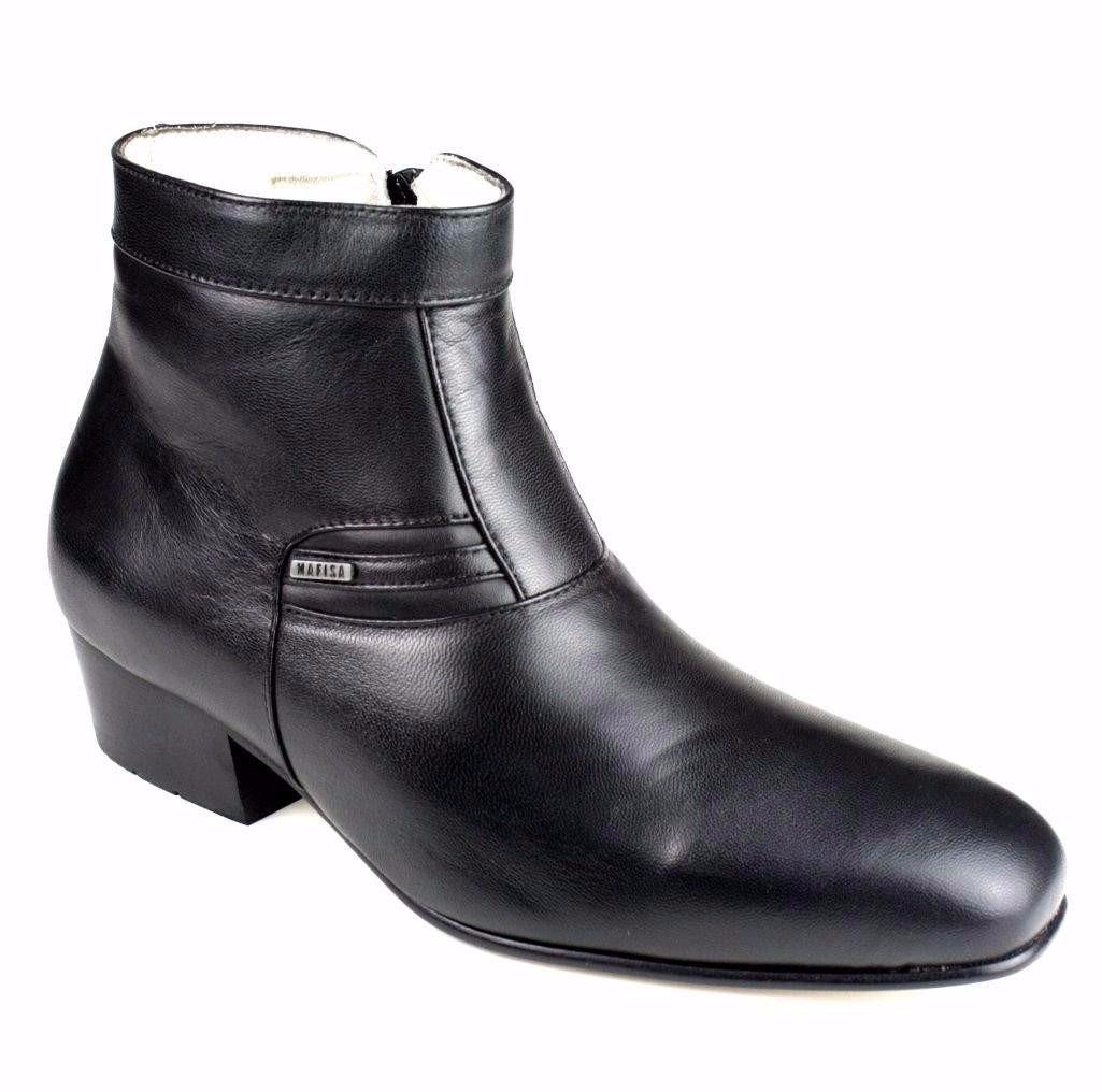 95384588a bota botina social masculina 100% couro legítimo super luxo. Carregando  zoom.