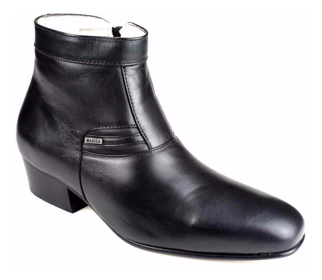 5240056c06de7 bota botina social masculina 100% couro legítimo super luxo. Carregando  zoom.