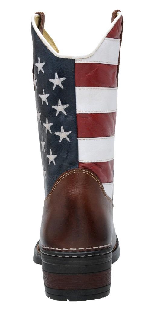 8b12ed9b9de Bota Botina Texana Americana Eua Masculina 100% Couro - R  224