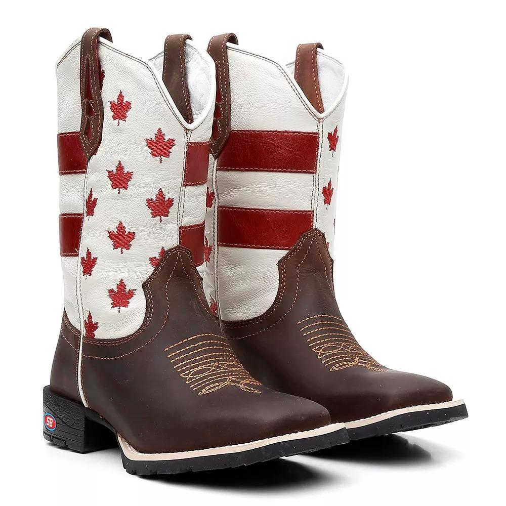 8f15450effacde  bota botina texana country bico quadrado masculino canada. Carregando  zoom. c4504133899